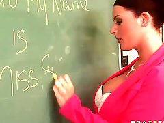 Daydreaming In The Classroom With Busty Teacher Sophie Dee