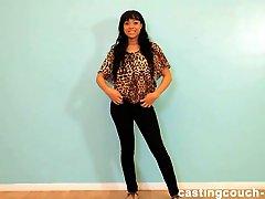 Netvideogirls melody calendar audition - 1 part 4