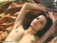 Stunning Retro Brunette Sylvia Kristel Shows It All In a Hot Sex Scene