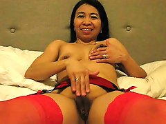 Wild Filipina Gina Jones Licks Sperm