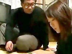 Asian schoolgirl teen interrupted in studding by horny uncle