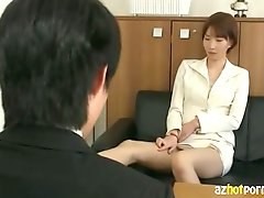 AzHotPorn com - Office Secretary Who is Especially Nasty