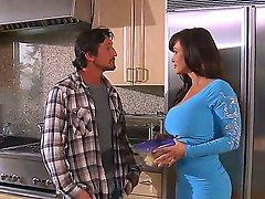 Lisa Ann is amazing neighbor sex goddess and she is not against to visit Tommy Gunn