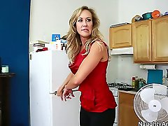 Brandi Love seduces a guy called Tyler Nixon and takes him for a wild milf ride. See her sucking on his dick and working it with her skills before she spreads her legs and lets him lick her.