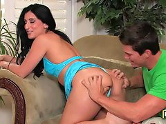 Curvy Latina Luscious Lopez Getting Her Ass Fucked