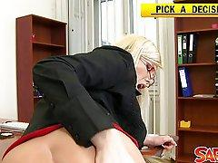 Lesbian Ass POV with Donna Bell