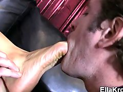 Dirty Foot Sucking and Worship