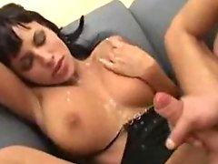 Belladonna and Anita Dark in a pornstar compilation