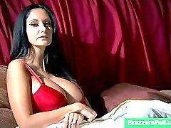 Ava addams busts her hubby cheating