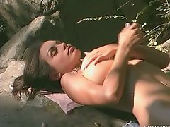 Absolutely Beautiful Aria Giovanni Posing Naked