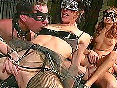 Hot Mask Gangbang with Jenny Macarthur