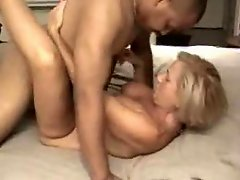 Mature wife shared by two black guys